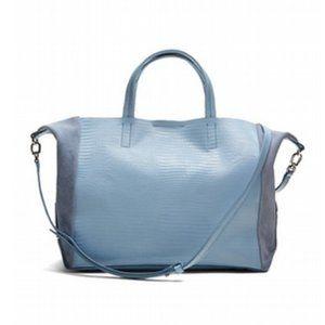 New Banana Republic Leather tote crossbody purse